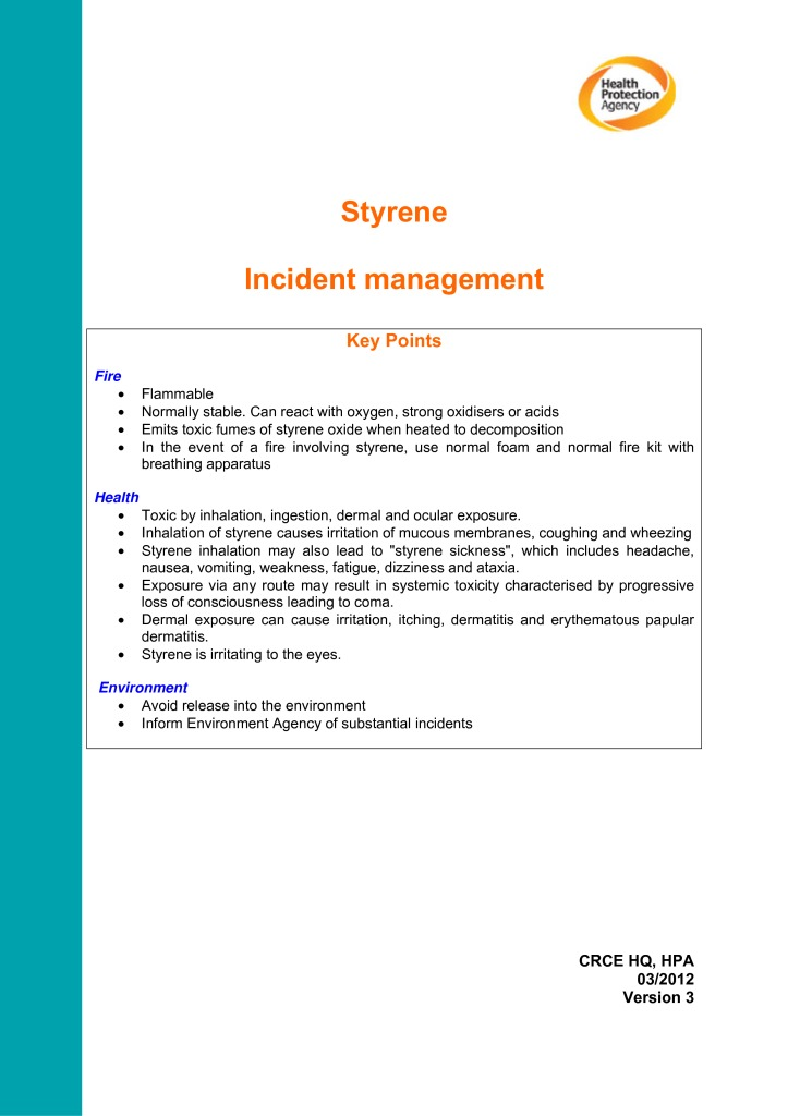 thumbnail of STYRENE_Incident_Management_v3