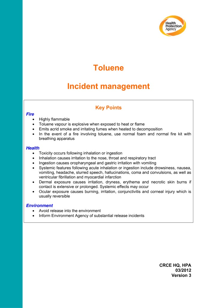 thumbnail of TOLUENE_Incident_management_v3