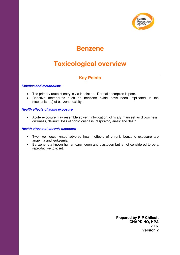 thumbnail of Benzene_toxicological_overview_